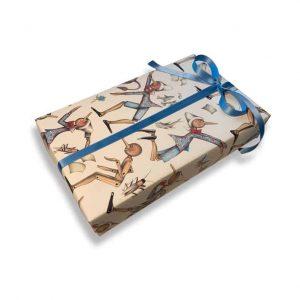 Presentpapper ROSSI Pinocchio Lyxigt inslagningspapper Kalenderspecialisten