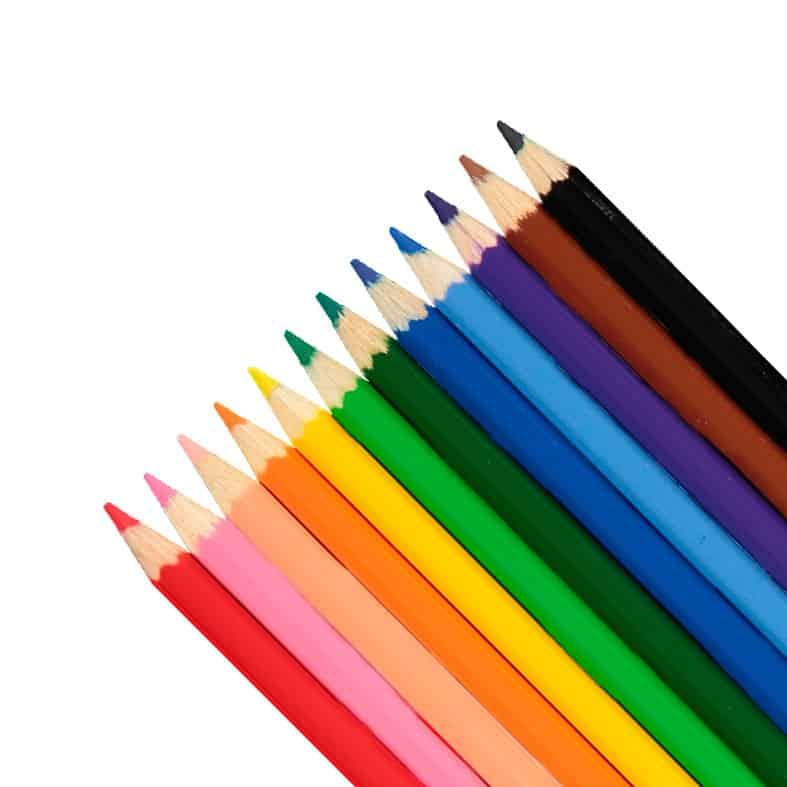 Färgpennor hos Kalenderspecialisten