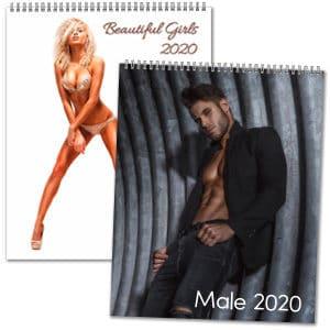 Lättklädda kalendrar 2020