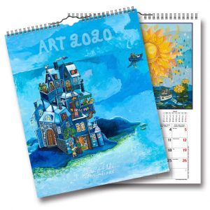 Väggkalender Bengt Elde 2020 tavelmålare Elde Kalenderspecialisten