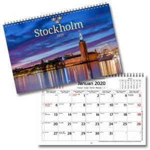Väggkalender Stockholm 2020 Vackra bilder över Stockholm Kalenderspecialisten