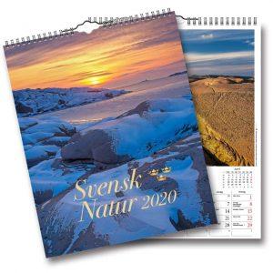 Väggkalender Svensk Natur 2020 svenska naturbilder Kalenderspecialisten