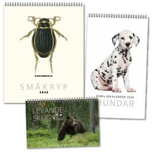 Kalendrar med djur 2020 Stort urval Kalenderspecialisten