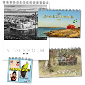 Väggkalendrar Design Collection