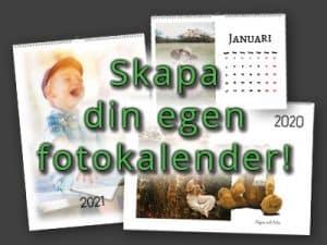 Banner fotokalender