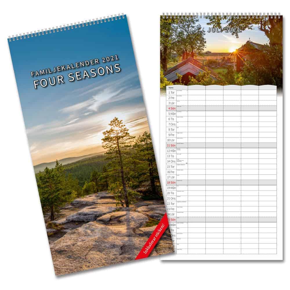 Familjealmanacka 2021 Stort urval Kalenderspecialisten