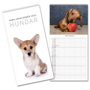Familjealmanacka 2021 Kalenderspecialisten