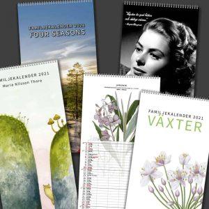 Familjekalendrar Design Collection