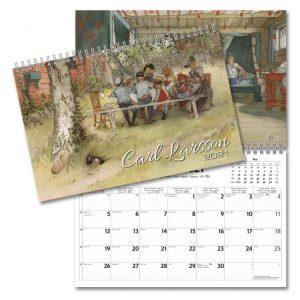 Väggkalender Carl Larsson 2021 Konstkalender Kalenderspecialisten