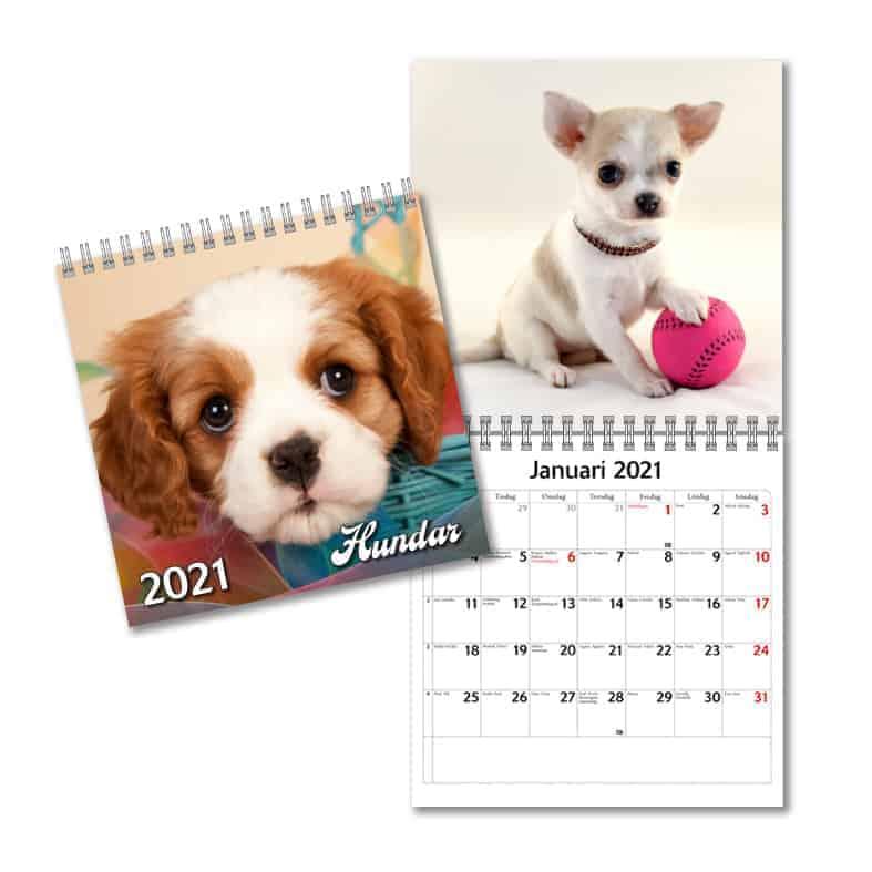 Almanacka med djur 2021Stort urval Kalenderspecialisten