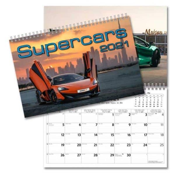 Kalendrar med bilar 2021 Stort urval Kalenderspecialisten