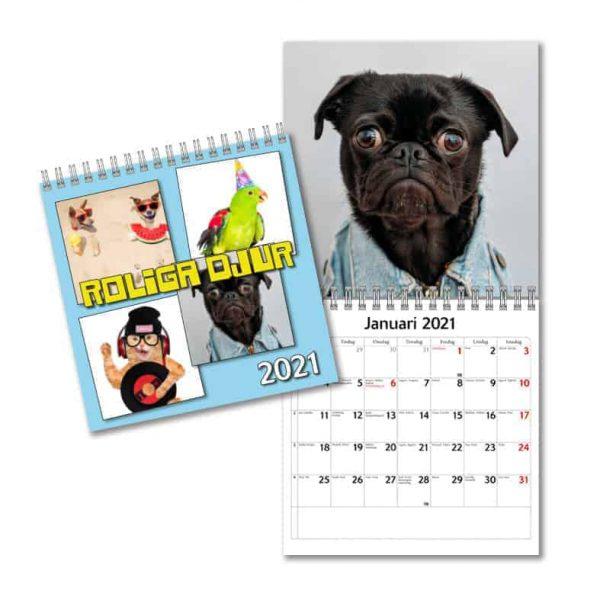 Kalendrar med djur 2021 Stort urval Kalenderspecialisten