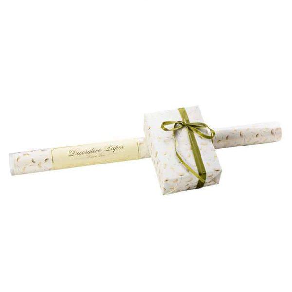 ROSSI Presentpapper Dandelions Lyxigt och vackert inslagningspapper med maskrosor Kalenderspecialisten