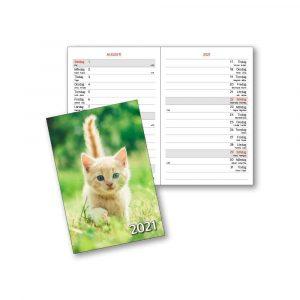 Almanacka med djur 2021 Kalenderspecialisten