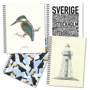 Anteckningsböcker Design Collection