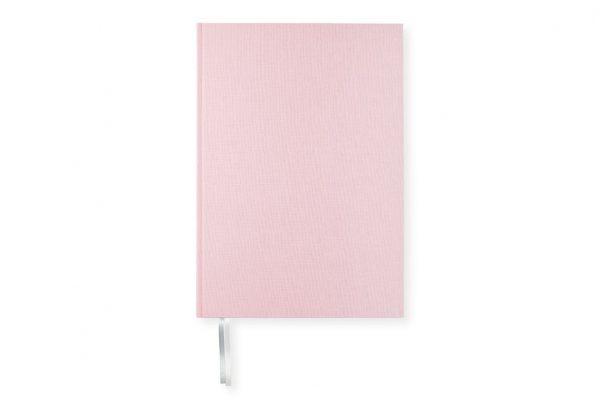 Anteckningsbok Paperstyle A4 Rosa Linjerad hos Kalenderspecialisten