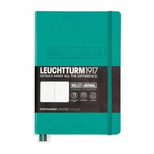 Leuchtturm Bullet Journal A5 Grön hos Kalenderspecialisten