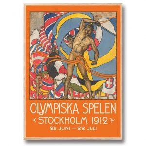 Poster OS Stockholm 30x40 cm Kalenderspecialisten