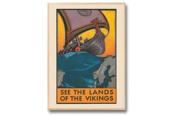"""Poster Vikings 30×40 cm Benjamin """"Ben"""" Blessum Kalenderspecialisten"""