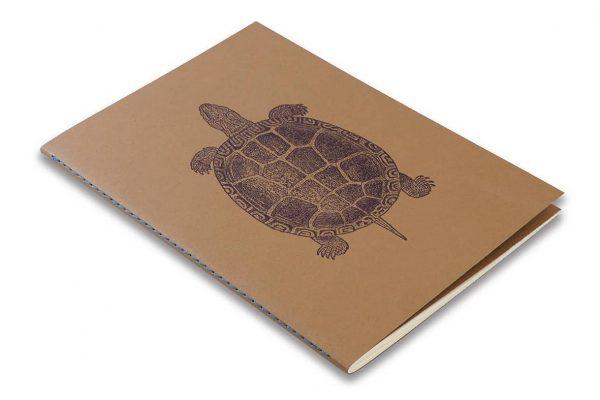 Skissbok A5 ROSSI Sköldpadda hos kalenderspecialisten