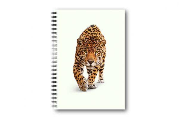 Skrivbok Leopard hos Gullers Trading