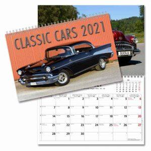 Almanacka med bilar 2021 Stort urval Kalenderspecialisten