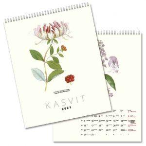Väggkalender Växter 2020 FINSK hos Kalenderspecialisten