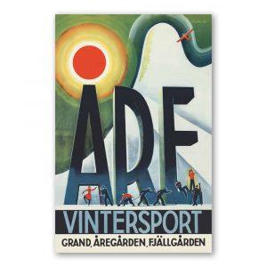 Vykort Åre Kalenderspecialisten
