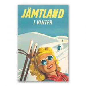 Vykort Jämtland Vinter Kalenderspecialisten