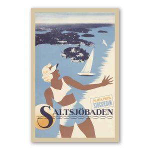 Vykort Saltsjöbaden kalenderspecialisten