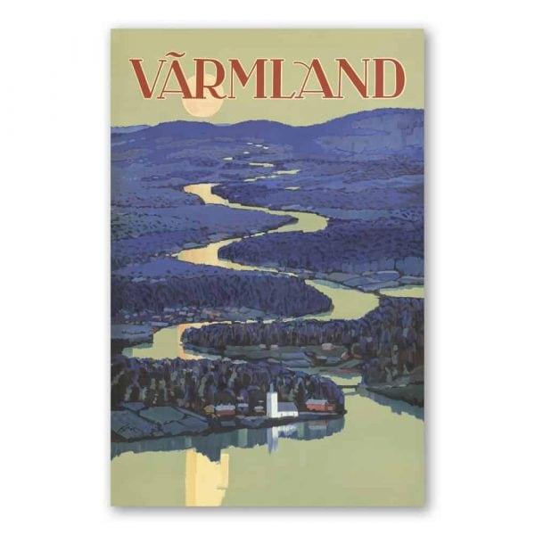 Vykort Värmland Kalenderspecialisten