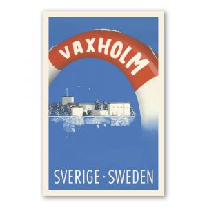 Vykort Vaxholm kalenderspecialisten