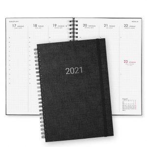 Almanacka 2021 Paperstyle Newport Svart Dotted hos kalenderspecialisten