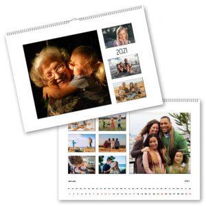 Fotokalender A3 Multipel hos Kalenderspecialisten