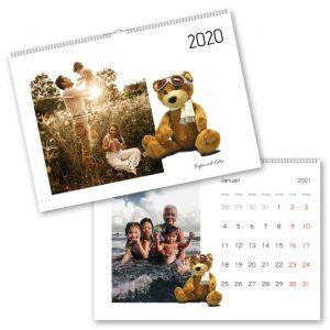 Fotokalender A3 Nallebjörn hos Kalenderspecialisten