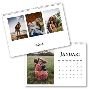 Fotokalender A4 Trippel