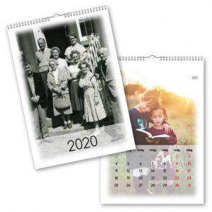 Fotokalender A4 Fade hos kalenderspecialisten