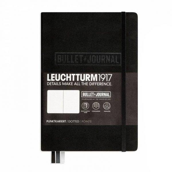 Leuchtturm Bullet Journal A5 Svart hos kalenderspecialisten