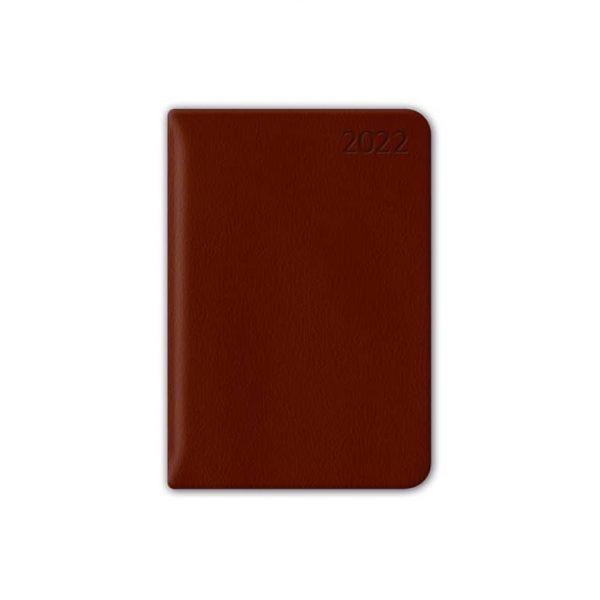 Almanacka Pocket Brun 2022