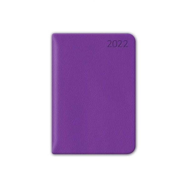 Almanacka Pocket Lila 2022 hos Kalenderspecialisten