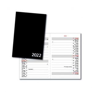 Almanacka Svart 2022 hos Kalenderspecialisten