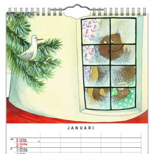 Familjekalender Familj Maria Nilsson Thore 2022 kalendarium