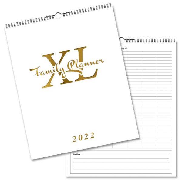 Familjekalender Planner XL 2022 hos Kalenderspecialisten