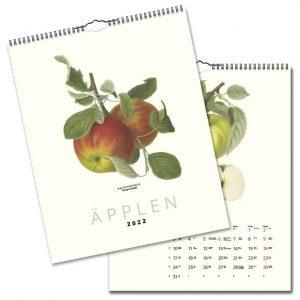 Väggkalender Äpplen 2022 hos Kalenderspecialisten