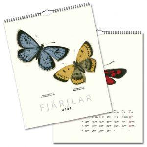 Väggkalender Fjärilar 2022 hos Kalenderspecialisten
