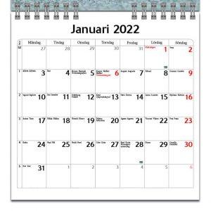 Väggkalender Katter Mini 2022 kalendarium