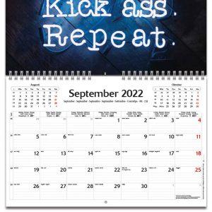 Väggkalender Motivation 2022 kalendarium