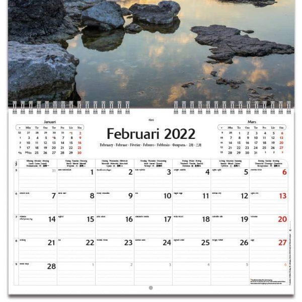 Väggkalender-Swedish-Seaside-2022-kalendarium