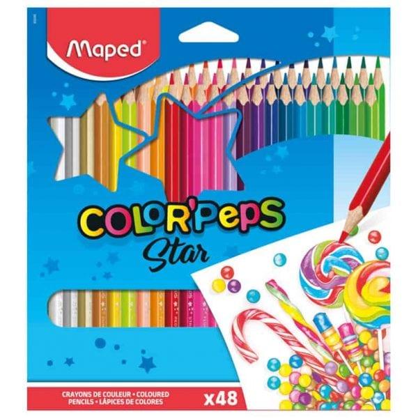 Färgpennor Maped 48 färger