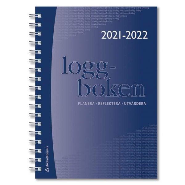 Loggboken 2021-2022 Omslag hos Kalenderspecialisten